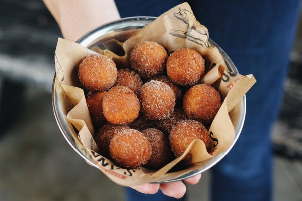 Cinnamon Sugar Donut Holes
