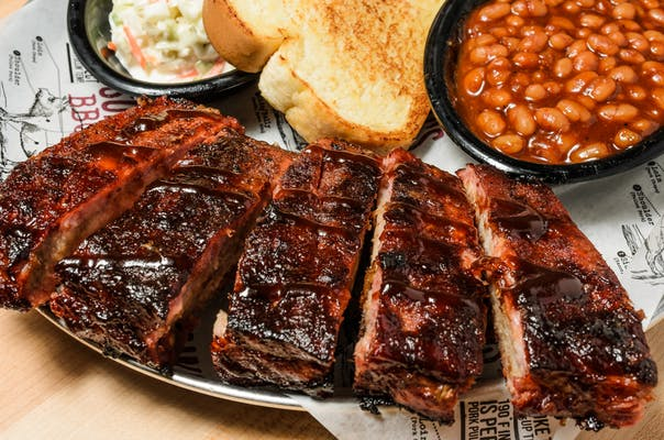 Sweet and Smokey St. Louis Rib Plate