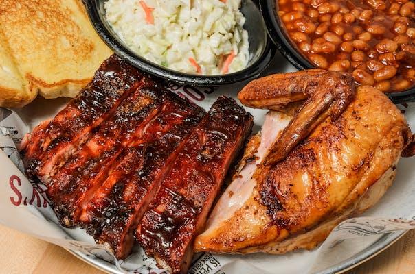 Rib & Chicken Plate