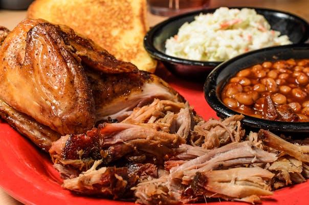 Chicken & Pork Plate