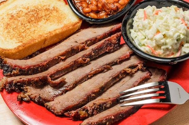 Sliced Beef Brisket Plate