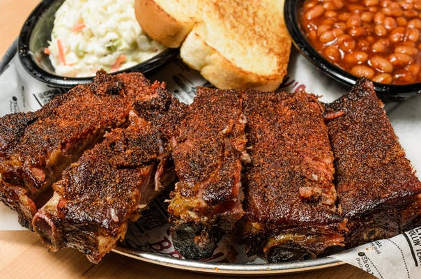 Dry Rubbed St. Louis Rib Plate