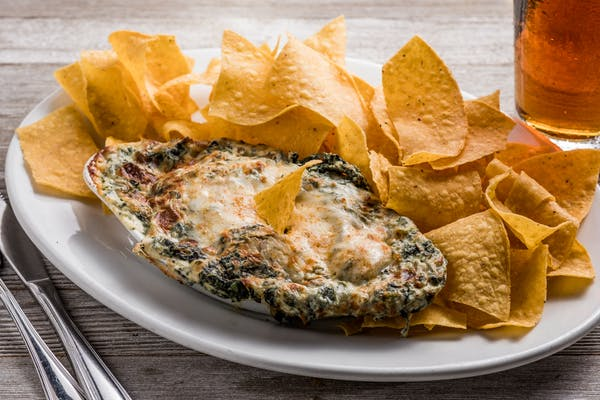 Shrimp & Crab Spinach Dip
