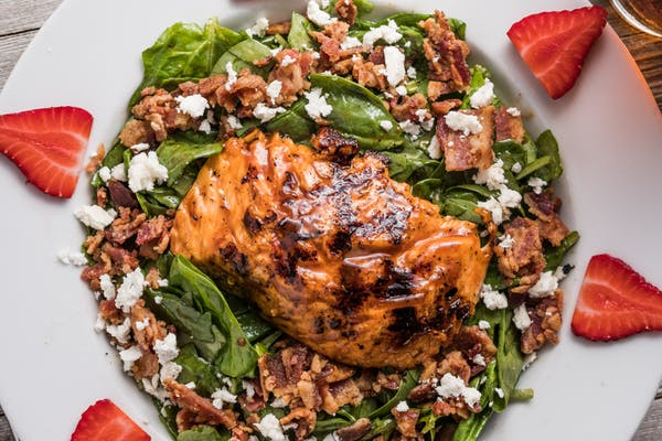 Salmon St. Croix Salad
