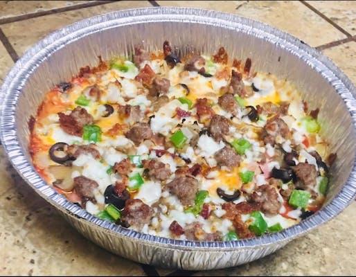 Keto-Friendly Crustless Pizza