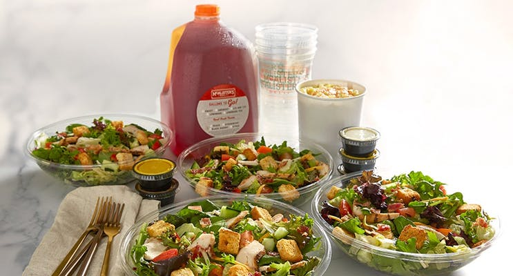 Grilled Chicken Salad Family Meals