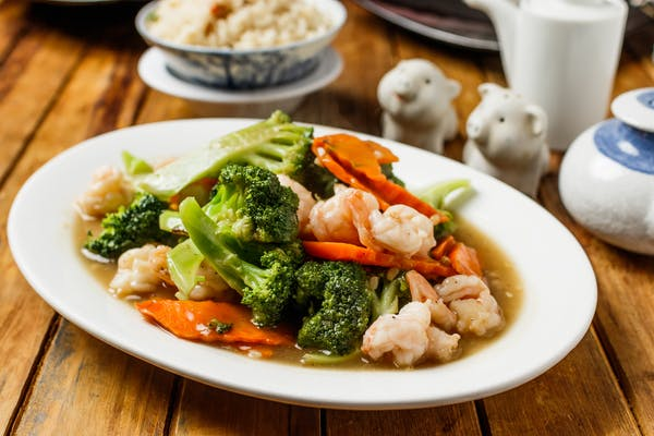 Shrimp & Broccoli