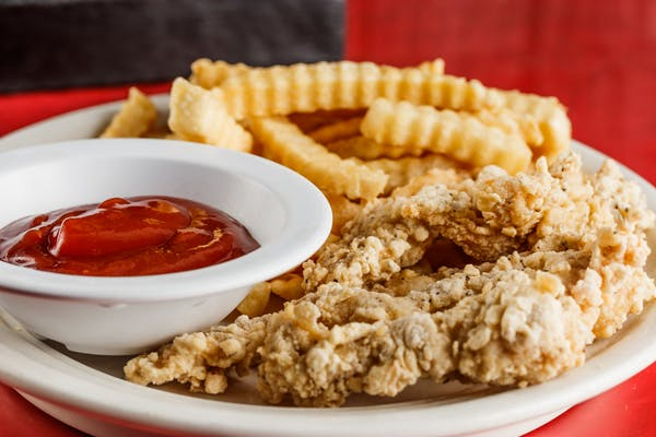 Chicken Strips & French Fries