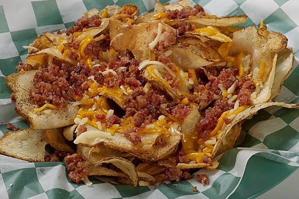 Cheesy Bacon Pub Chips