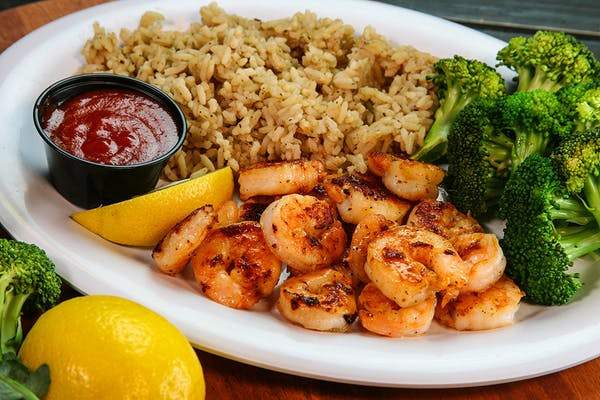 Grilled Shrimp Entrée