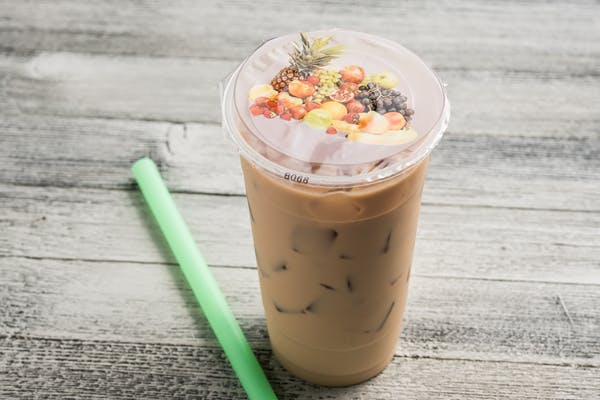 Iced Cold Brew Latte