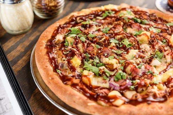 Hawaiian Bar-B-Que Chicken Pizza