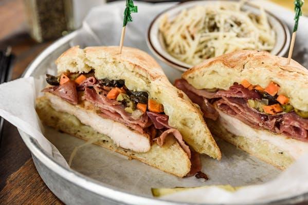 Italian Chicken Breast Club Sandwich