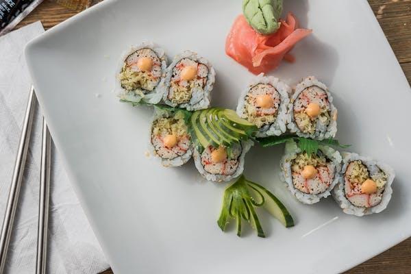 2. Crunchy Spicy Crab Roll