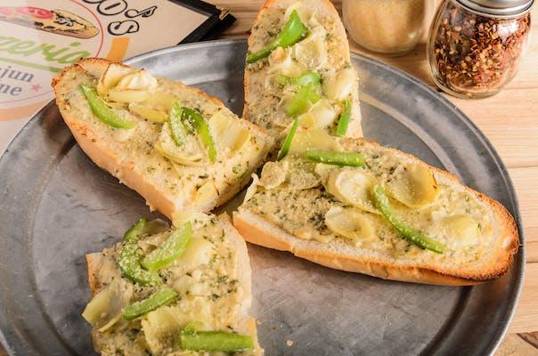 Artichoke & Parmesan Bread