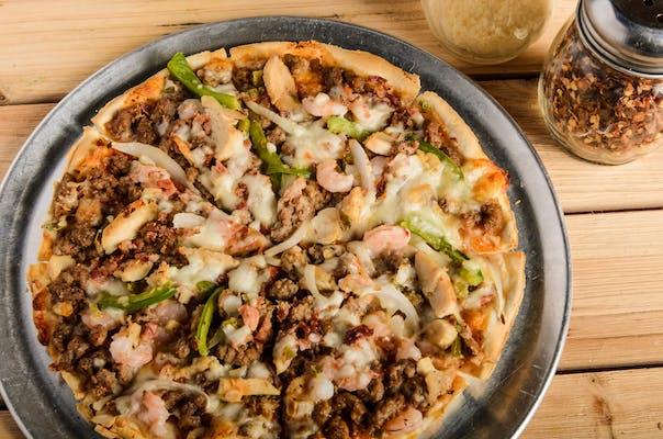 Cajun Twist Pizza