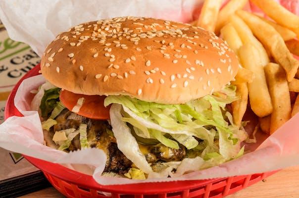 House Burger Combo