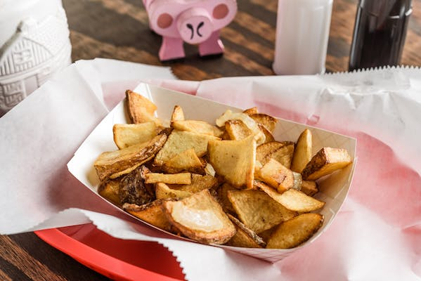 Homefries with Grilled Onions