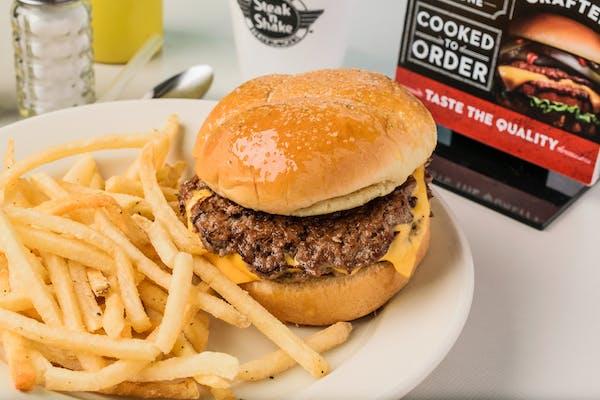 Garlic Steakburger