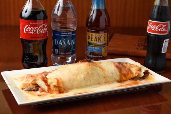 California Super Burrito Coca-Cola Combo