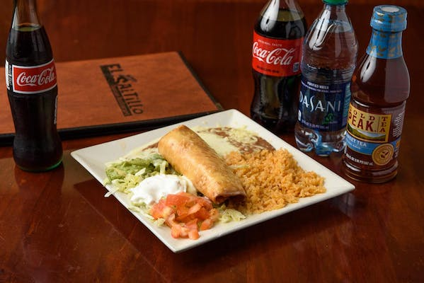 Chimichanga Meal Coca-Cola Combo