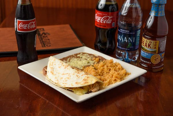 Chicken Quesadilla Coca-Cola Combo