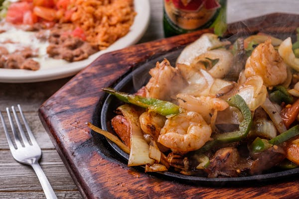 66. Shrimp Fajitas