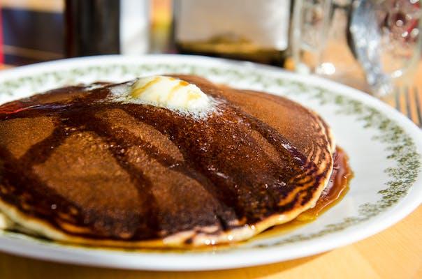 2 Homemade Pancakes