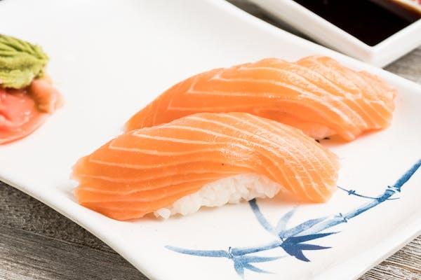 Sake (Raw Salmon) Nigiri