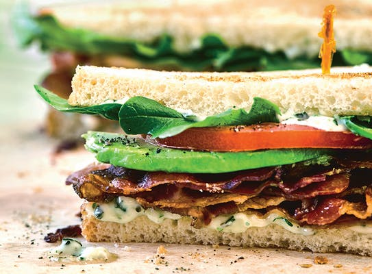 BLT with Avocado Sandwich