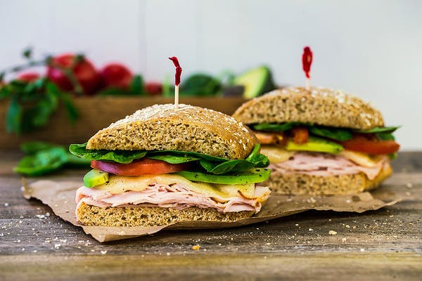 Garden Fresh Turkey Sandwich