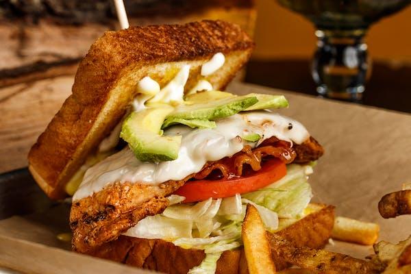 2-5-4 Smoked Chicken Sandwich