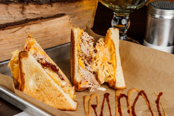 Big Mac Grilled Cheese Sandwich