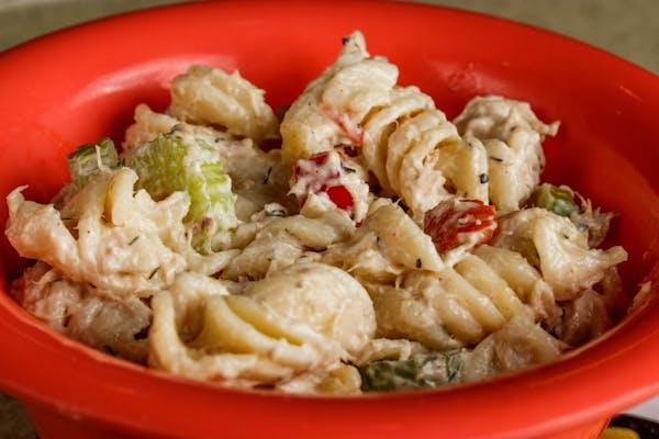 Tuna Skroodle Pasta Salad