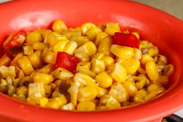 Fiery Roasted Corn Salad