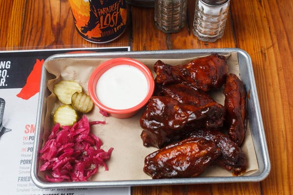 Hot BBQ Smoked Wings