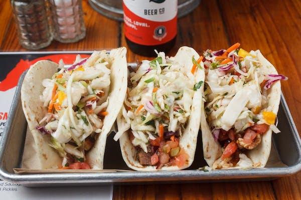 BBQ Taco Sampler