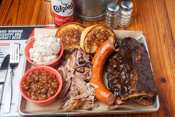 Grand Champion BBQ Sampler for Two