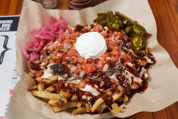 Pulled Pork Fondren Fries