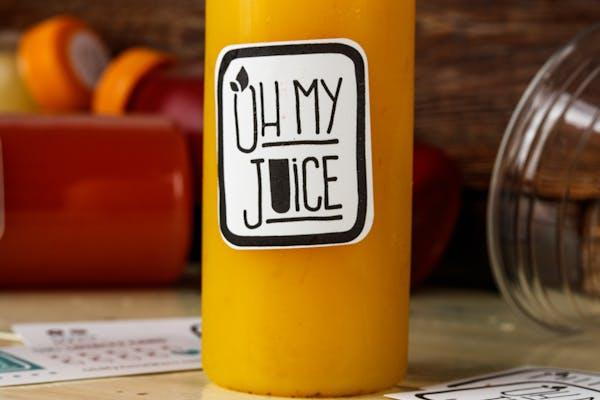 Cold-Pressed Turmeric Lemonade Juice