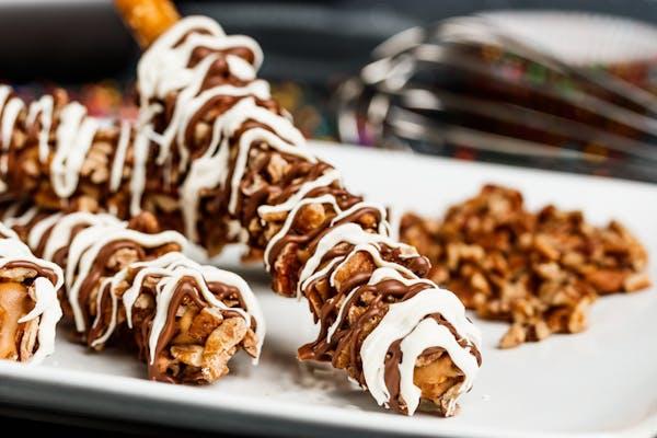 Chocolate Pecan Pretzel