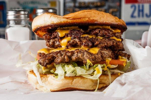 Triple-Triple Burger