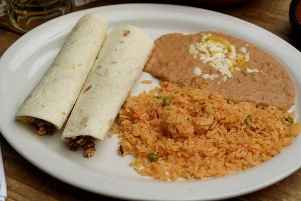 28. Chorizo Burritos (Lunch)