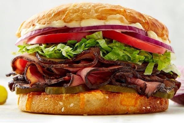 Roast Beef & Cheese Sandwich