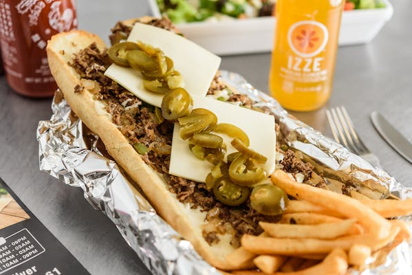 Spicy Philly Cheesesteak