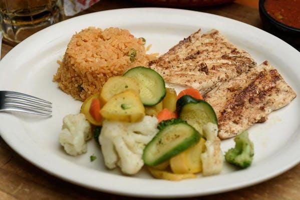 Grilled Mahi-Mahi Dinner