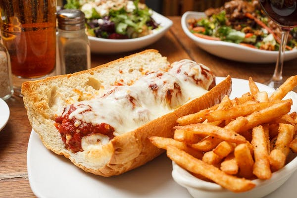Lunch Veal Meatball Po-Boy