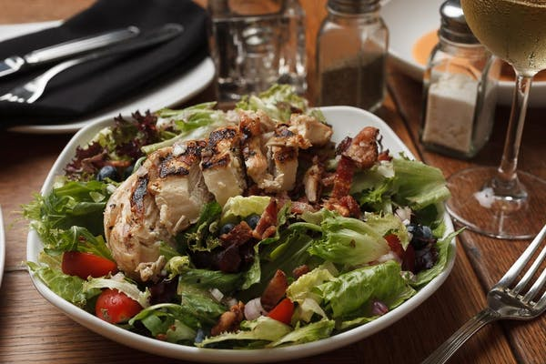 Lunch Chicken & Walnut Salad