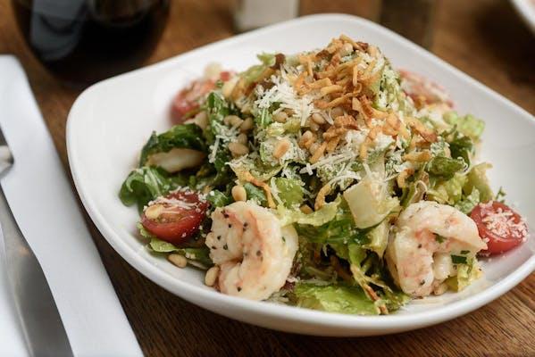 Lunch The Villa Shrimp Salad