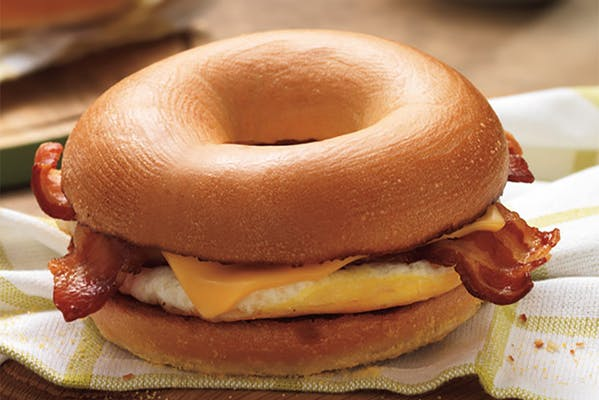 Classic Bacon, Egg & Cheese Sandwich
